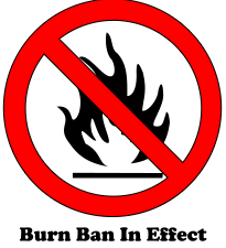 Open Burning Ban – CANCELLED